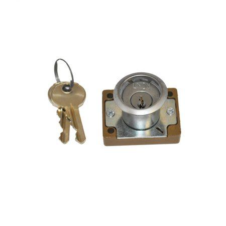 CYLINDER DRAWER LOCK