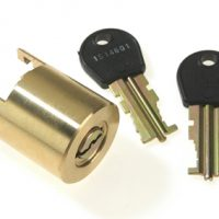 Rosengren Gold Safety Deposit Lock 141-0001
