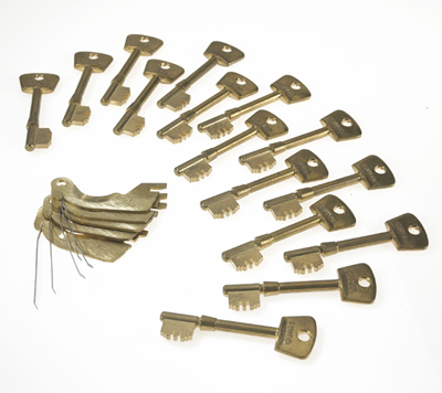 3G110 P15  LEVER PACK + 15 KEY