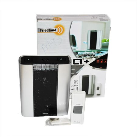 D914 PROFESSIONAL WIREFREE PORTABLE CHIME KIT (BARCLAYS).